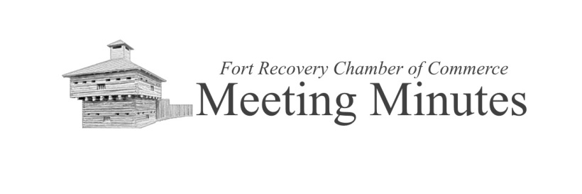 Meeting Minutes  Fort Recovery Chamber Of Commerce