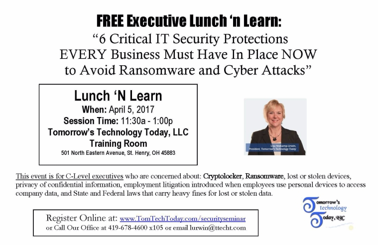 Lunch 'n Learn